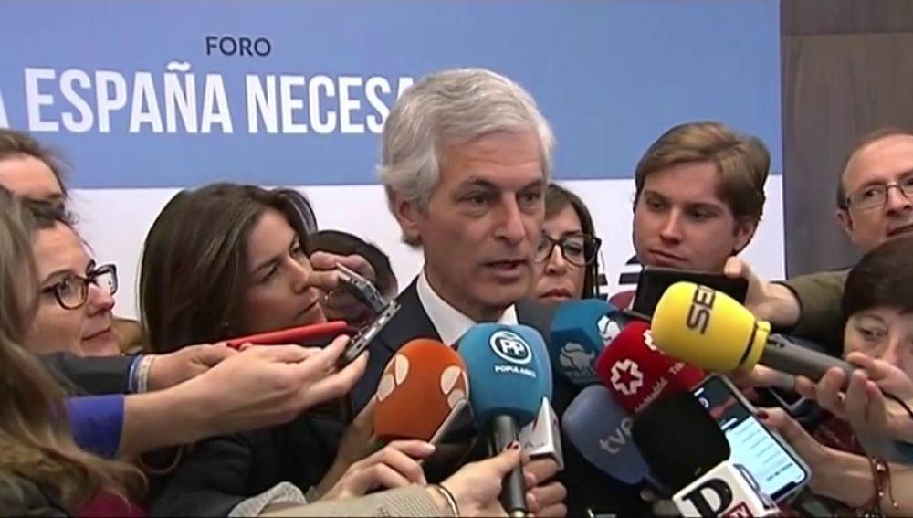 """Suárez Illana: """"Un orgullo pero sobre todo una responsabilidad. Defender el ideario que necesita España en unos momentos francamente difíciles"""""""