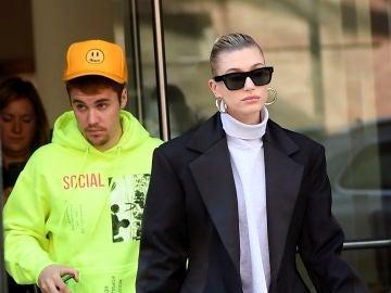 Justin Bieber y su mujer Hailey Baldwin
