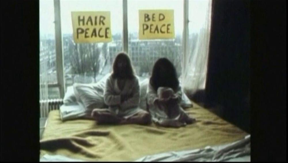 50 años desde el icónico momento en el que Jhon Lennon y Yoko Ono pidieron la paz desde una cama