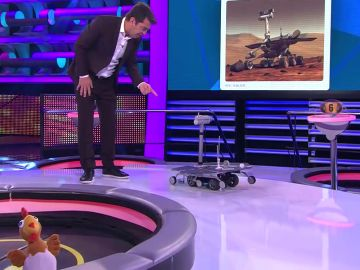 Uno más en la gran familia de '¡Ahora caigo!': el robot Opportunity