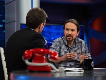 """Pablo Iglesias en 'El Hormiguero 3.0': """"Lo de Cataluña no se resuelve a palos y con cárcel"""""""
