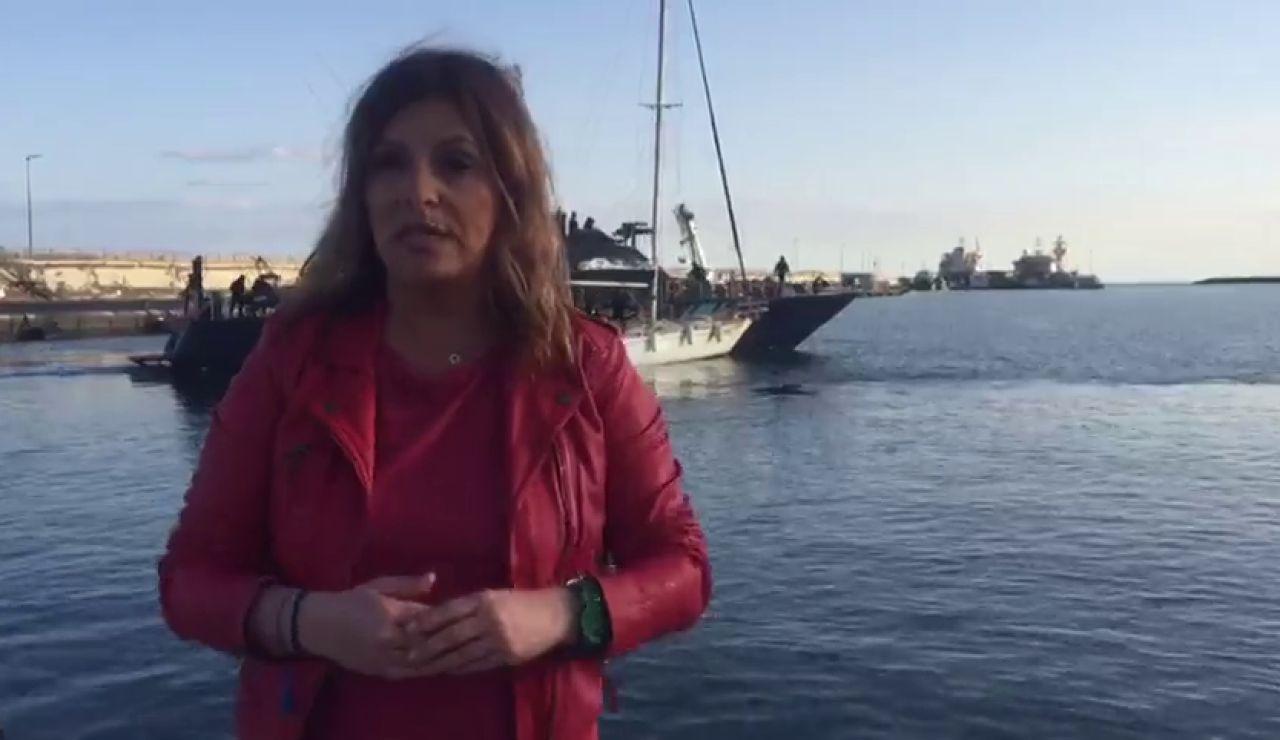 Detenidos los tripulantes de un velero por narcotráfico