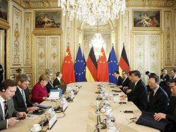 Reunión de los líderes