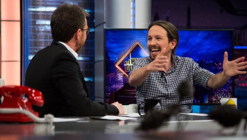 """El contundente mensaje de Pablo Iglesias en 'El Hormiguero 3.0': """"No me fío de nadie en política"""""""