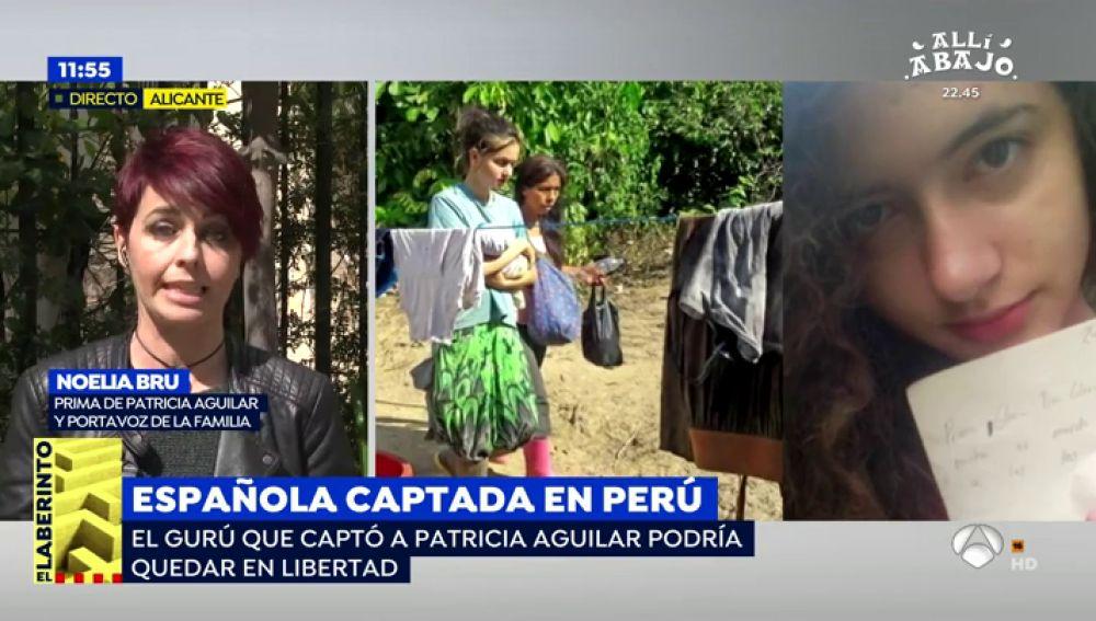Patricia Aguilar, rescatada de la influencia de un falso gurú