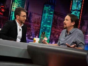 """Pablo Motos desvela en 'El Hormiguero 3.0' las """"cortinas de humo"""" de los políticos, incluidas las de Pablo Iglesias"""