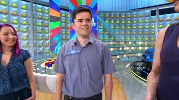 Alberto, el concursante más polifacético de 'La ruleta de la suerte'