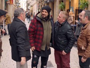 "La cuadrilla se encuentra con Antonio Orozco: ""Dile a Koldo que se venga a 'La Voz'"""