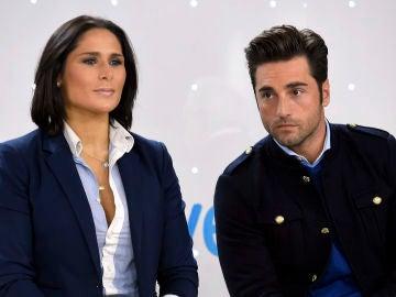 Rosa López y David Bustamante