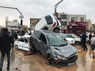 Efectos de las inundaciones en Irán