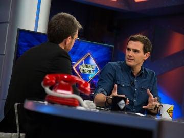 Albert Rivero, durante su entrevista en 'El Hormiguero'.