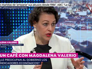 """Magdalena Valerio: """"Nuestros viernes sociales contrarrestan todos los viernes de recortes del PP"""""""
