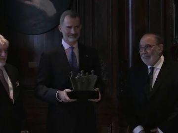 Premio al rey en Argentina por su postura ante el desafío independentista en Cataluña