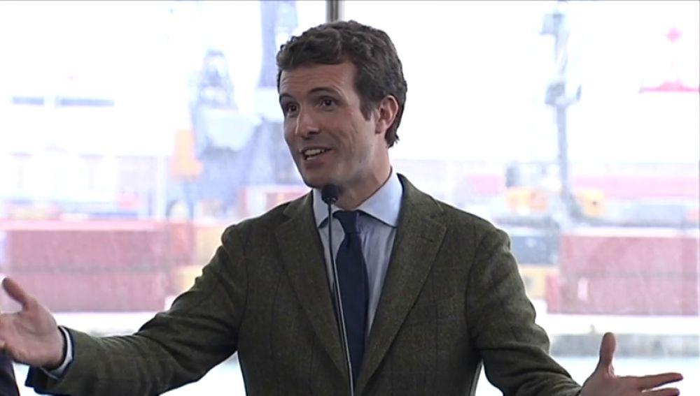 Casado responde a la oferta de coalición que Rivera sería un buen ministro de Exteriores