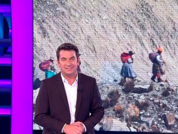 El emocionante homenaje de Arturo Valls a las cholitas escaladoras del Aconcagua