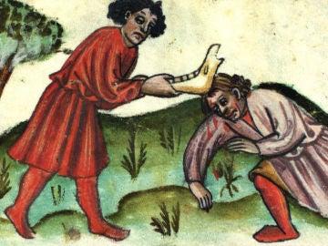 Caín y Abel (pintura del siglo XV)