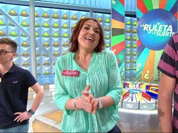 Ana anuncia en 'La ruleta de la suerte' el pretendiente de Laura Moure