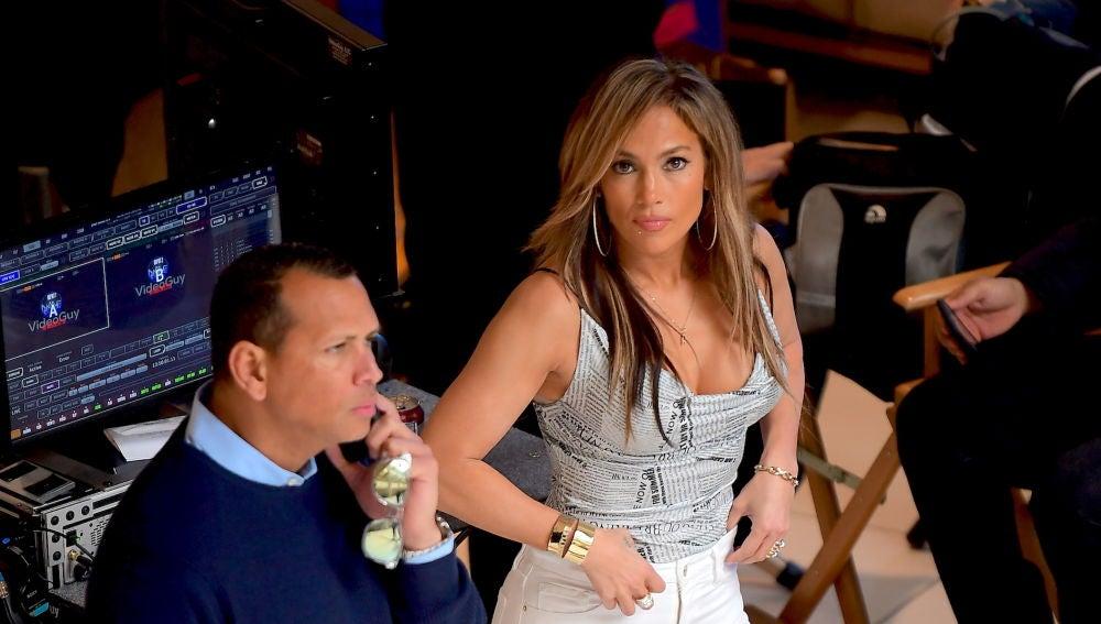 Jennifer Lopez y Álex Rodriguez