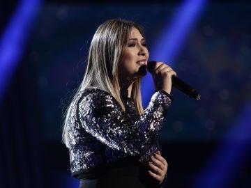 VÍDEO: María Espinosa canta 'Me cuesta tanto olvidarte' en los Directos de 'La Voz'