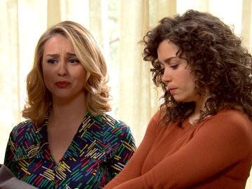 Luisita y Amelia, detenidas