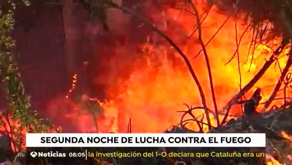 Más de 20 nuevos incendios intencionados queman Galicia en la zona de Rianxo, en A Coruña