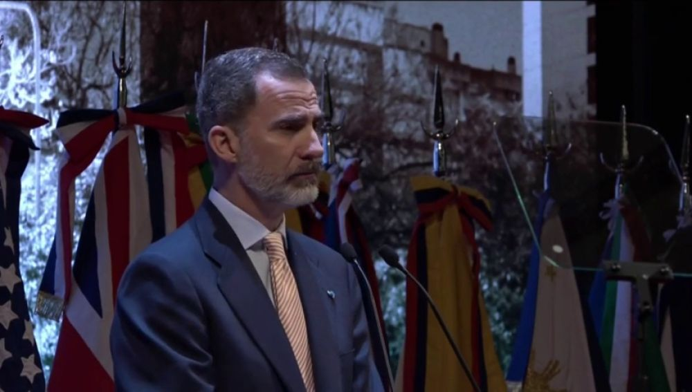 "REEMPLAZO Felipe VI llama a la fraternidad hispanoamericana: ""¡Viva nuestra hermandad!"""