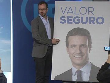'Valor Seguro', el lema del PP para las elecciones generales del 28A