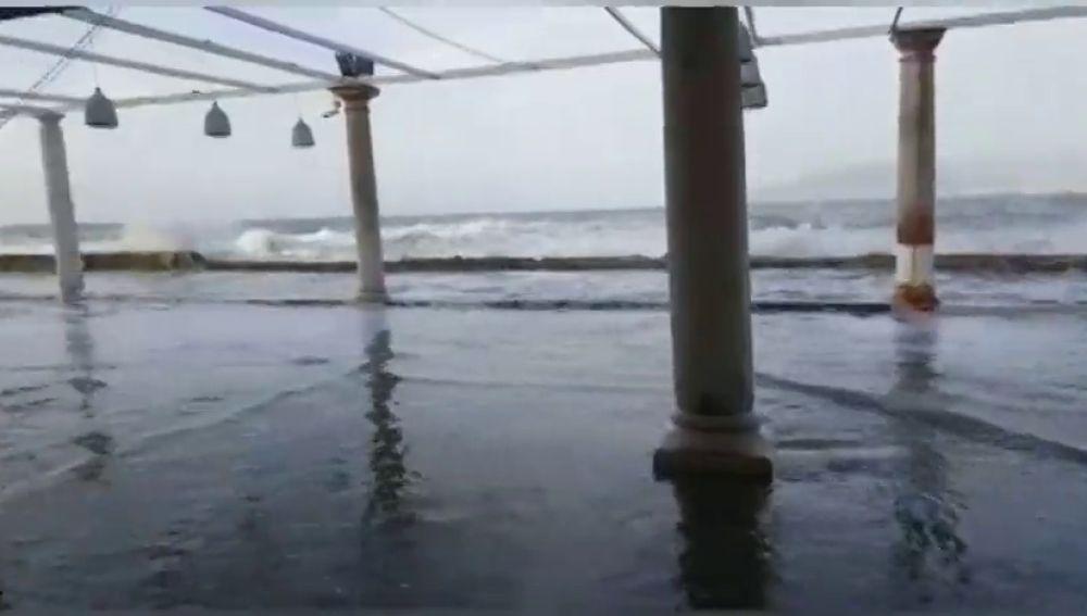 Las fuertes rachas de viento en el sur de la Península obligan a activar la alerta naranja
