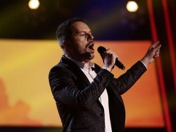 VÍDEO: ngel Cortés canta 'O sole mio' en los Directos de 'La Voz'