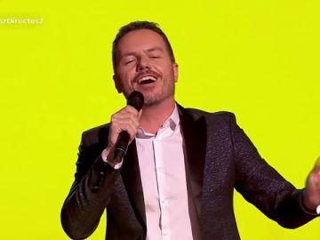 Ángel Cortés canta 'O sole mio' en los Directos de 'La Voz'