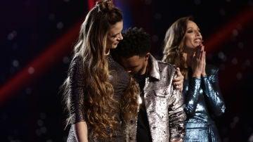 Marcelino Damion se convierte en semifinalista de 'La Voz'