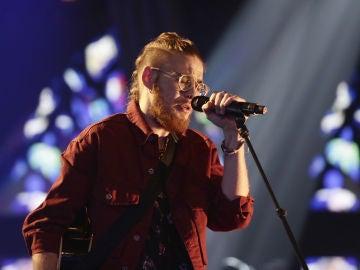 VÍDEO: Andrés Martín canta 'Hallelujah' en los Directos de 'La Voz'