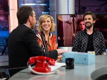 Cecilia Freire cuenta en 'El Hormiguero 3.0' cómo se le ha subido la fama a Julián López