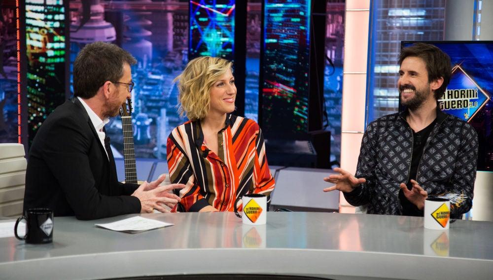 Julián López y Cecilia Freire revelan en 'El Hormiguero 3.0' que han usado vestuario de películas históricas para su serie