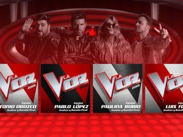 Participa y podrás conseguir un lote de CDs de 'La Voz'