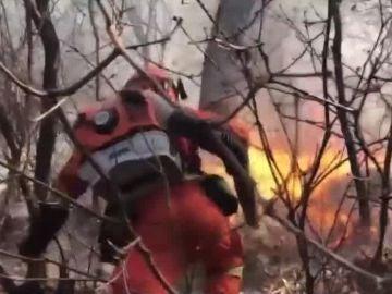 Incendio en China