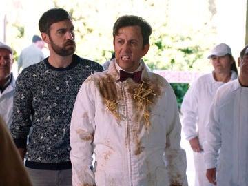 """Cristóbal se pone a trabajar duro: """"Si pude dormir en la cárcel con sábanas de poliéster le puedo dar palos a un árbol"""""""