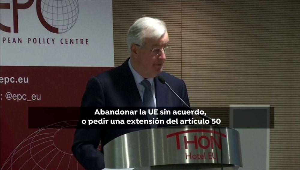 """Barnier:  """"la UE no es una prisión, por lo que cualquier Estado que quiera marcharse tiene libertad para hacerlo"""""""