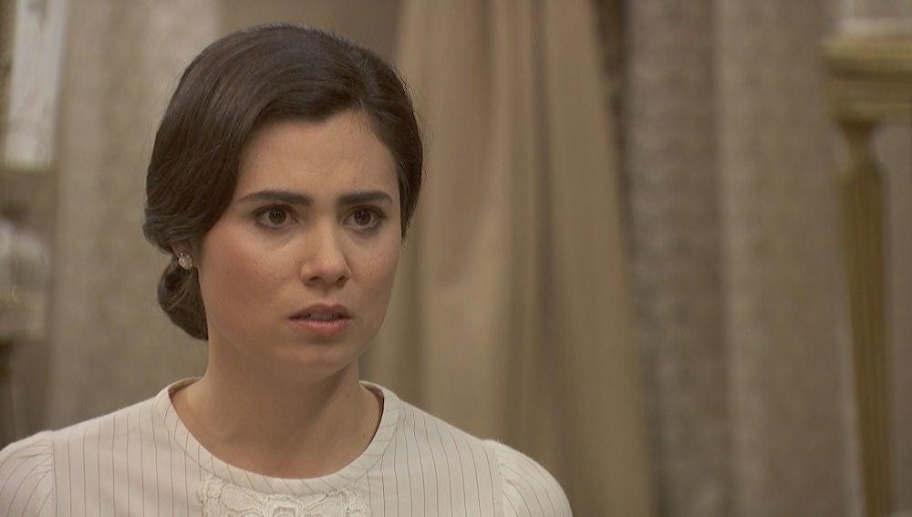 Vídeo: María, en shock