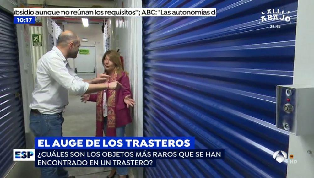 Reportaje sobre trasteros en el programa espejo p blico de for Antena 3 espejo publico programa hoy