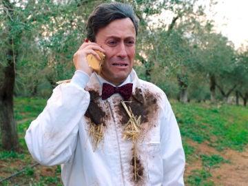 """La llamada desesperada de Cristóbal: """"Puede que no vuelvas a verme con vida, me están haciendo 'mobbing' rural"""""""