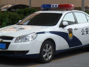 Coche de policía chino