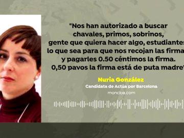 El partido de Llamazares y Garzón ofrecía dinero a cambio de avales para poder presentar candidaturas