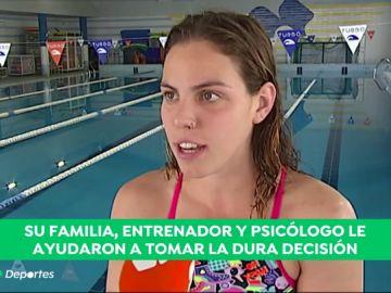 La historia de superación de la nadadora María Vilas: lo dejó por depresión y vuelve dos años después