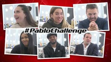 Los talents de 'La Voz' afrontan el #PabloChallenge con destreza y humor