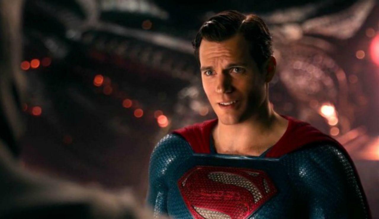 Henry Cavill como Superman en 'Liga de la Justicia'
