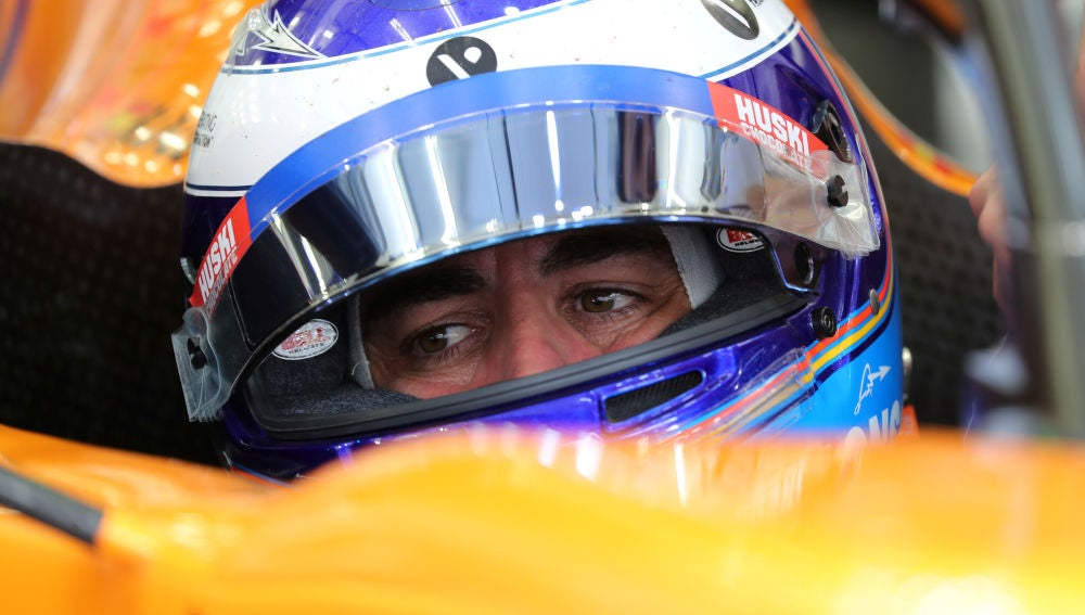 Fernando Alonso, en los test de Baréin de F1