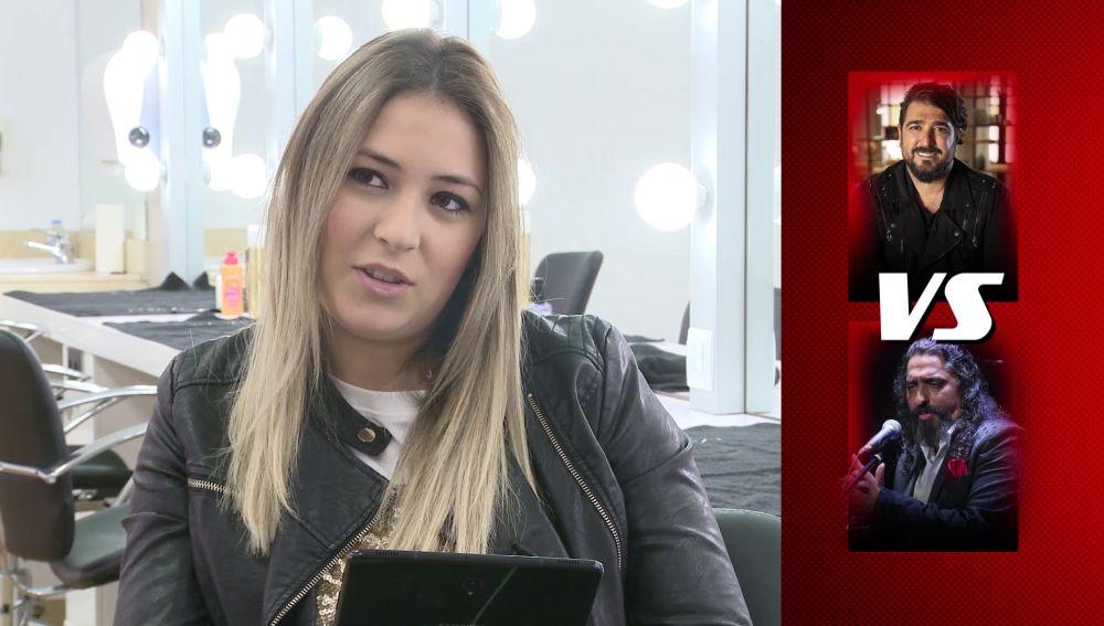 María Espinosa se enfrenta a 'Quédate con uno'