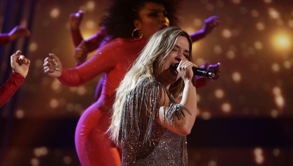 VÍDEO: Viki Lafuente canta 'Something's got a hold on me' en la Semifinal de 'La Voz'