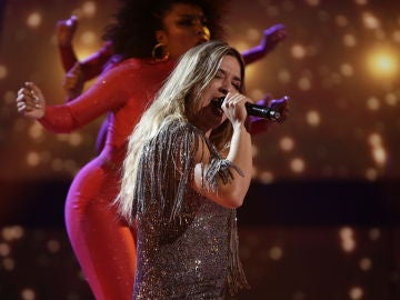 VÍDEO: Viki Lafuente canta 'Something's got a hold on me' en la Semifinal de 'La Voz'